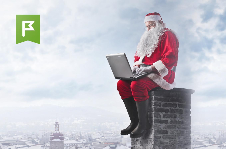 Дед Мороз планирует в ПланФиксе маршрут доставки подарков хорошим детям